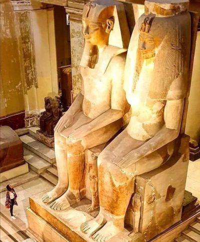 Аменхотеп III царица Тийя