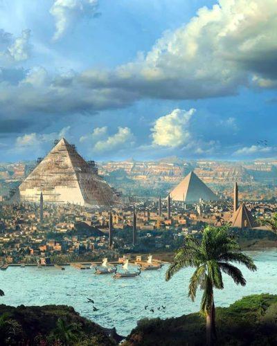 Древний Египет репродукция