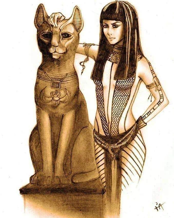 Бастет - богиня очага