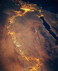 Египет из космоса