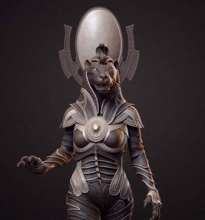 Сехмет богиня Солнца