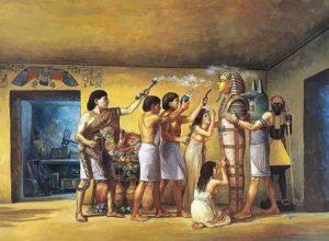 Окуривание фараона
