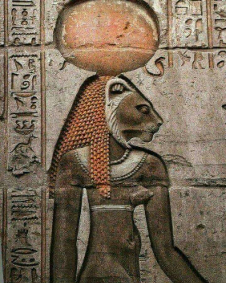 Богиня Сехмет