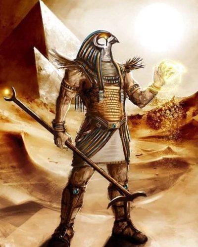 Гор - бог в виде сокола