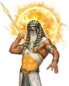 Бог в виде сокола