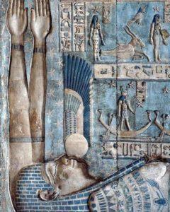 Надписи на стенах храма