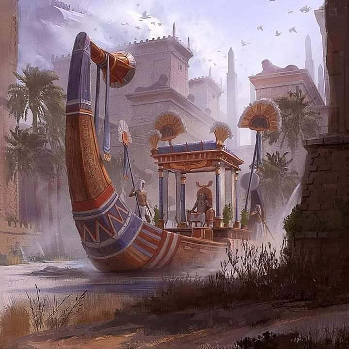 Корабль Хуфу Арт