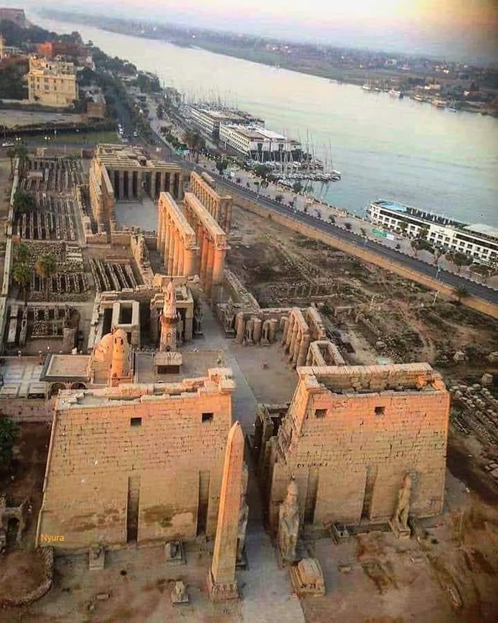 Луксор египетское поселение