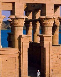 Портики в храме на Филае