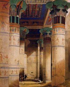 Храм Исиды на осрове