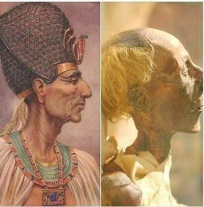Рамзес II и арт реконструкция