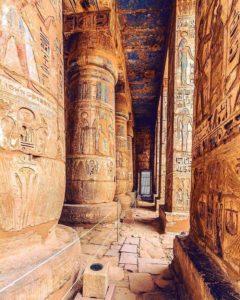 Храм Рамсеса III в Мединет-хабу, Луксор