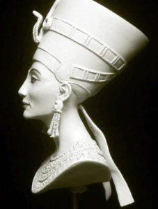 Копия, гипс, бюст Нефертити