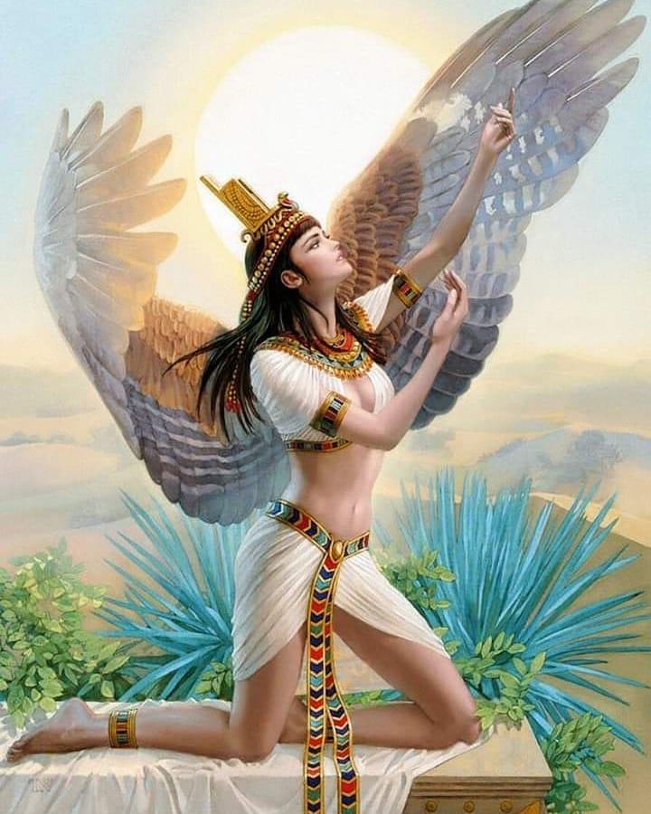 Исида главная богиня Древнего Египта