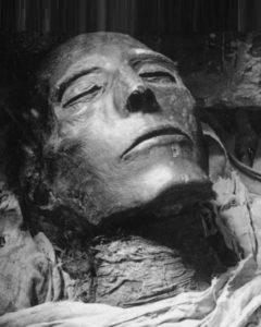 Мумия царя Сети I