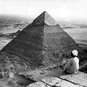 Вершина Великой пирамиды, 1924 год