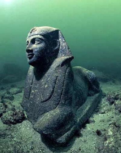 Затонувший город Гераклейон