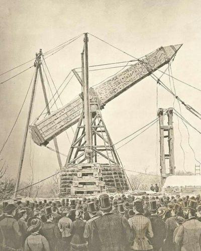 Транспортировка обелиска