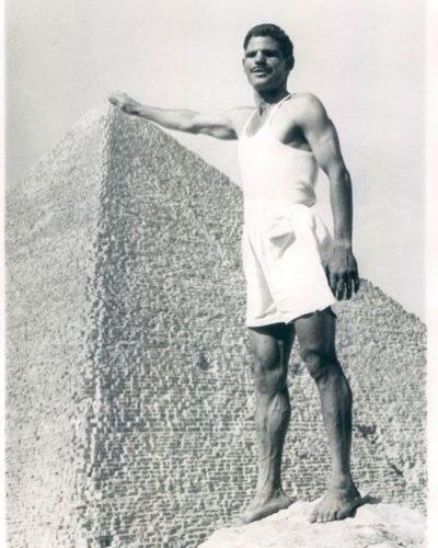 На вершине пирамиды