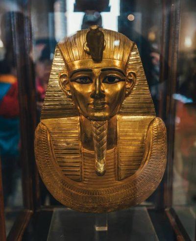 Сплошная Золотая маска смерти Псусеннес I