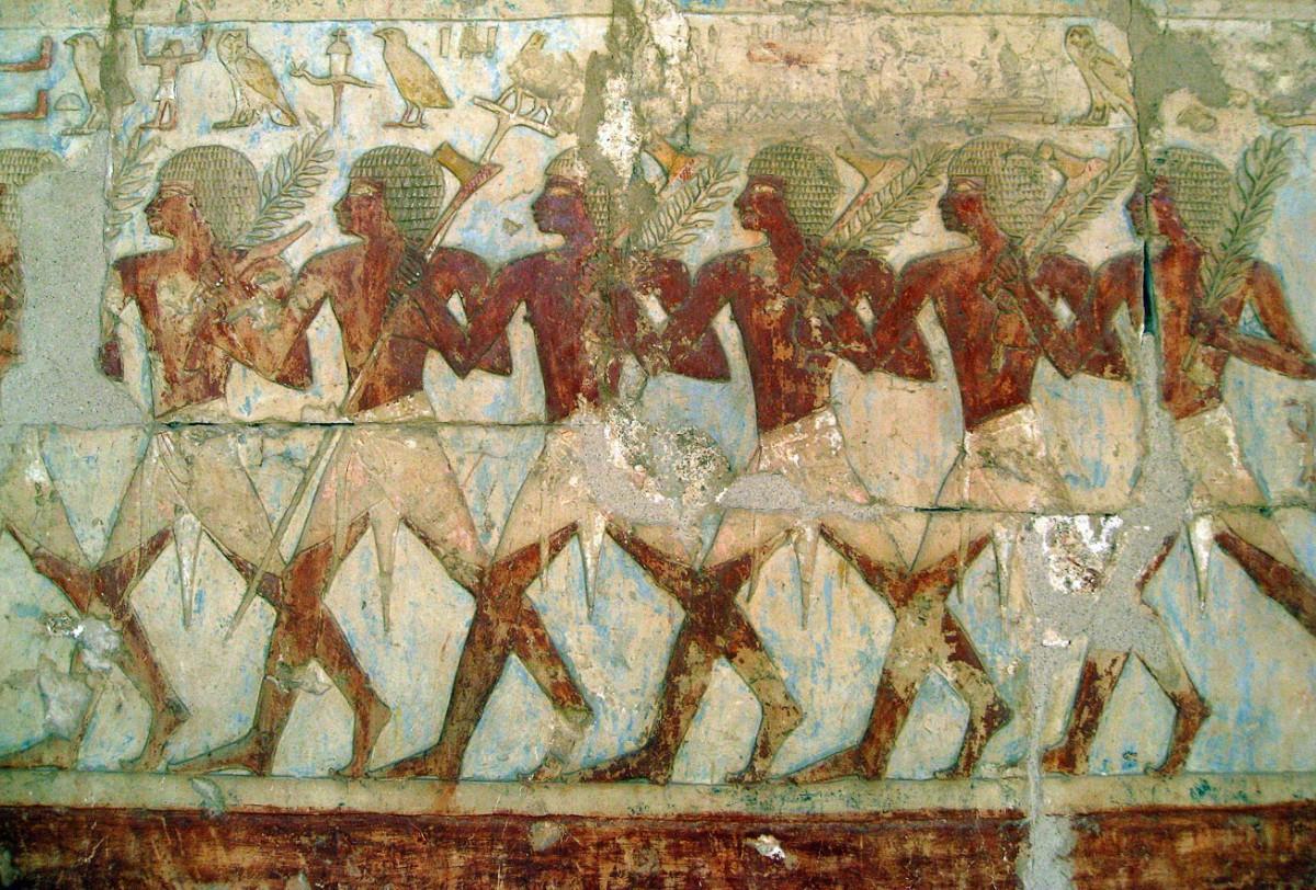 Египетские солдаты в походе Хатшепсут на Пунт
