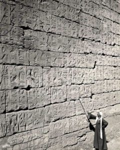 Иероглифы в Луксорском храме