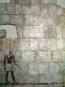 Изображение Хатшепсут намеренно снято со стены
