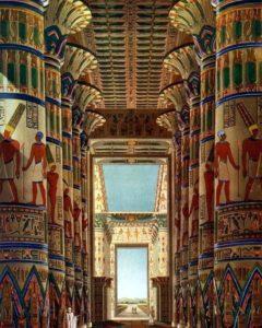 Храм Карнак, Гипостильный зал