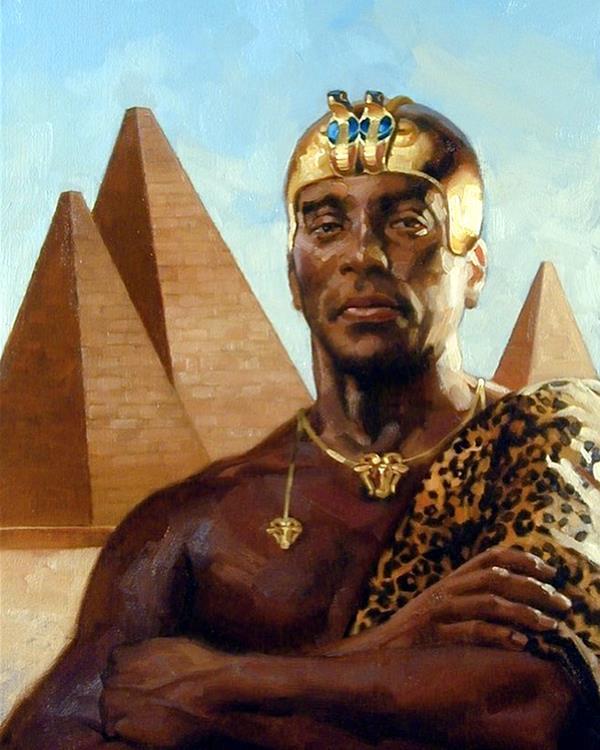 Кушитский царь Пийе
