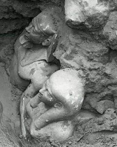 Статуя Менкаура и его жены Хамерернебти II
