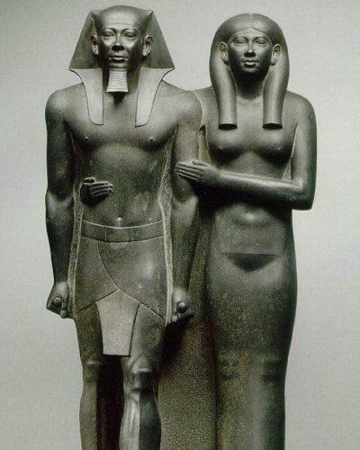 Менкаур и его жена