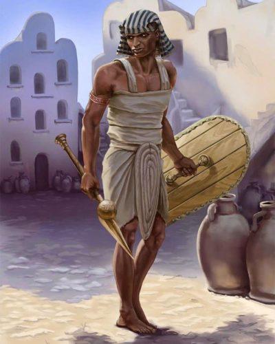 воин Египта