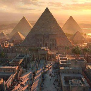 Пирамиды, арт