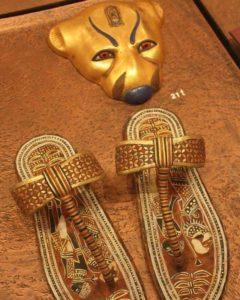 Сандалии Тутанхамона
