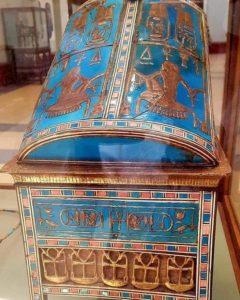 Деревянная шкатулка для драгоценностей Аменхотепа III