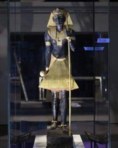 С выставки Тутанхамона в Лондоне