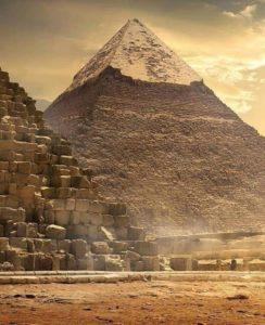 камни Пирамиды Гизы