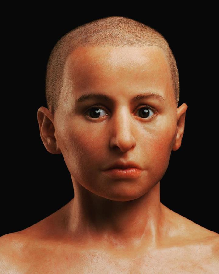 Древний мальчик Минирдис