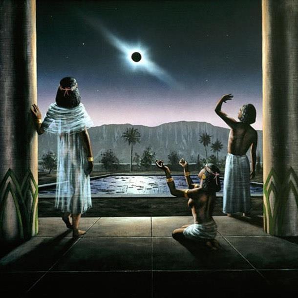 древнейшее солнечное затмение