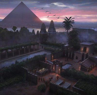 Древний Египет Гиза