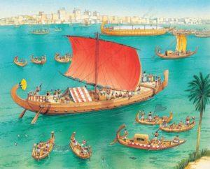 лодки Египта