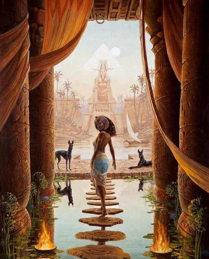 Женщина фараон