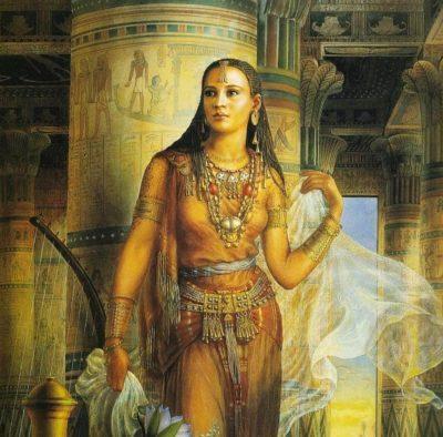 женщина Египта