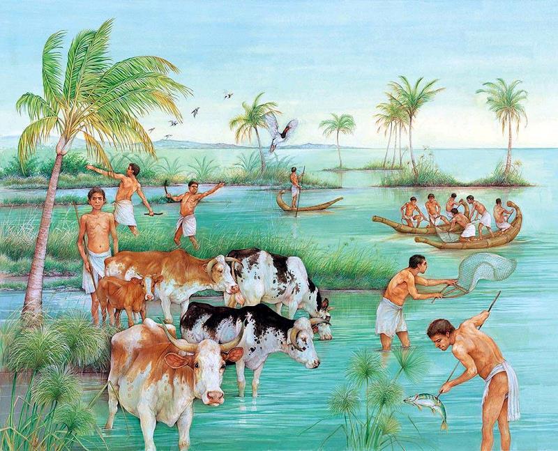 Нил в Древнем Египте