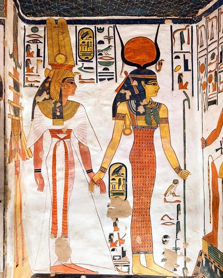 человек в Египте