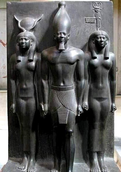 Менкауре и его жены