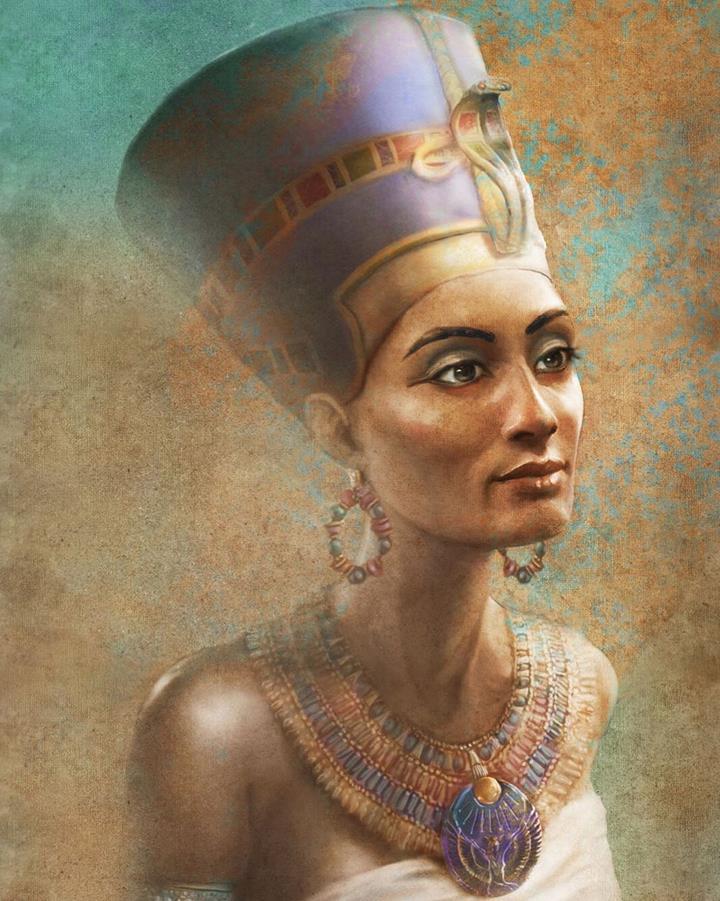Лицо Нефертити