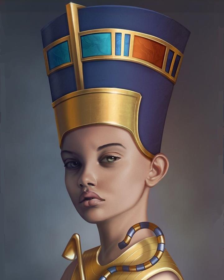 откуда Нефертити