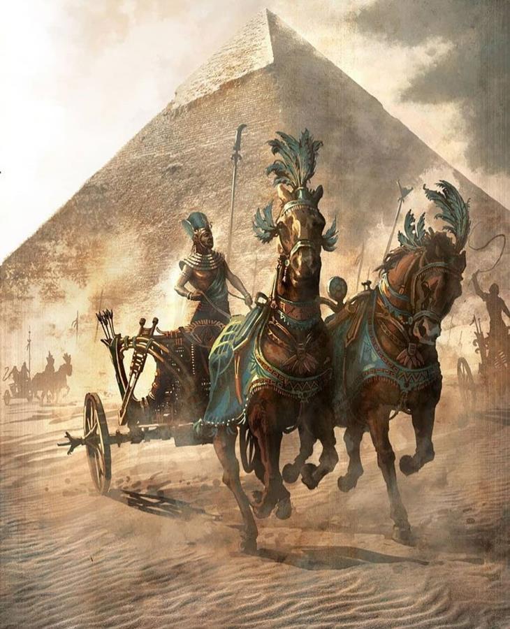 колесница фараона