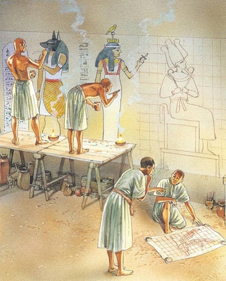 Оформление гробниц